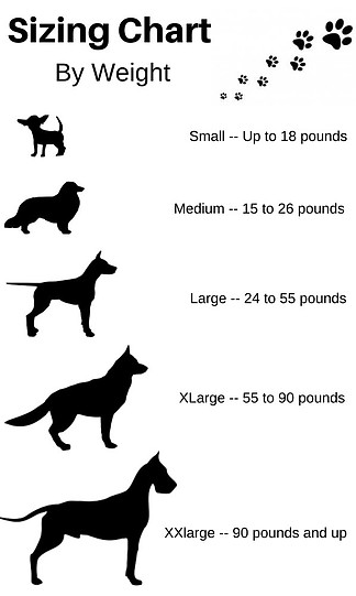 Size Chart How To Measure For A Dog Bed